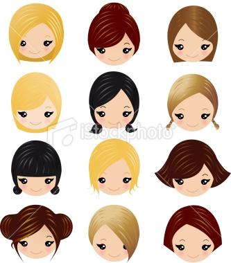 hair design cartoon maisalon