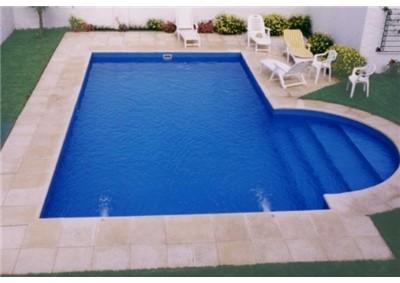 S tio prosperidade piscinas for Piscina de fibra 3 por 4