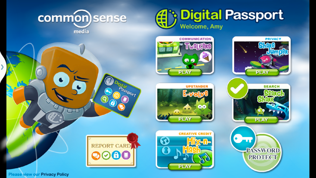 Digital Passport by Common Sense Media