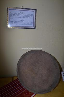 capah piring tradisional karo