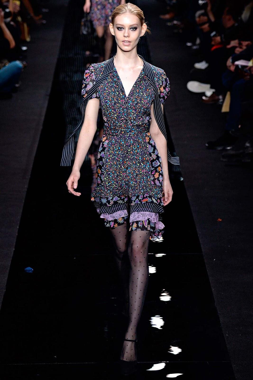 Diane von furstenberg f w new york visual for Diane von furstenberg new york