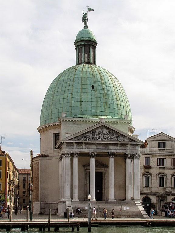 Church of San Simeone Piccolo, Grand Canal, Venice