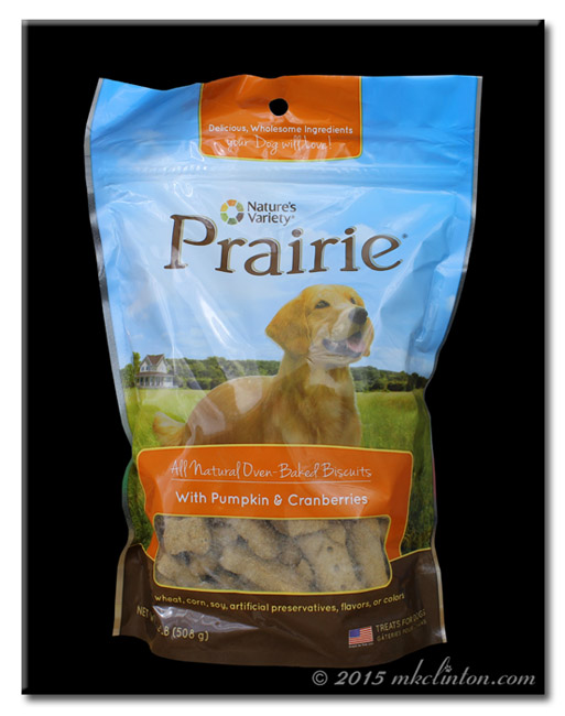 Nature's Variety Prairie Dog Biscuits bag