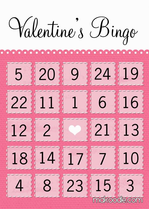 Fabulous image throughout printable valentine bingo card