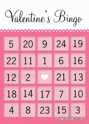Valentine's Day Bingo For Preschoolers 4