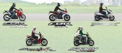 Produk Sepeda Motor Injeksi PGM-FI