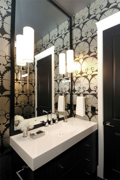 Popular See my top wall sconce picks at the end of this post What type of lighting do you prefer in a powder or guest bath