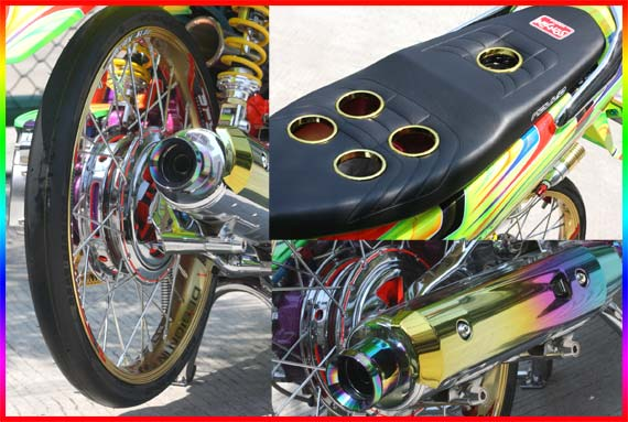 Modifikasi Motor Matic | Matic Drag Bike title=