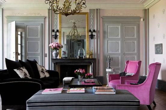 ... casa idee: Imbiancare colori: labbinamento grigio e rosa antico