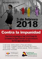 """Marcha """"Contra la impunidad"""" en homenaje a las víctimas de la carretera de Almería en 1937"""
