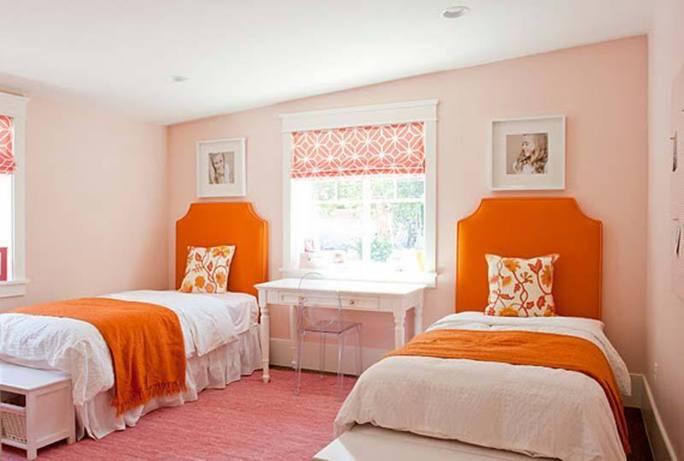 ديكورات رائعة باللون البرتقالي، اجمل ديكورات