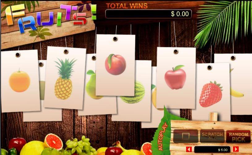online scratch game
