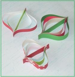 Como hacer adornos de navidad con papel portal de - Adornos navidad con papel ...