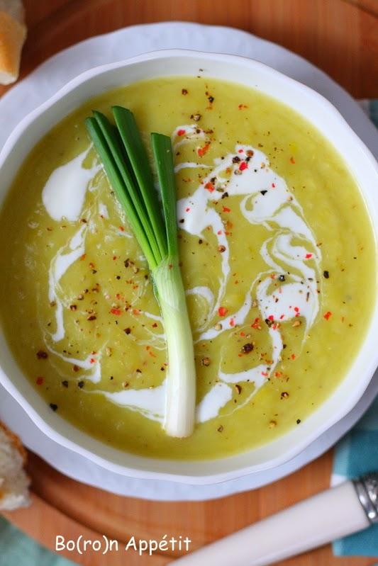 Przepis na zupę z pora