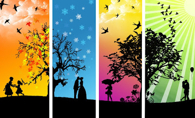 four seasons, winter, spring, summer, fall, amazing story, wise, sons, trip, pear tree, tapandaola111