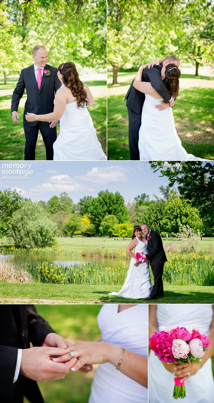 Yakima Arboretum Wedding Memory Montage Photography