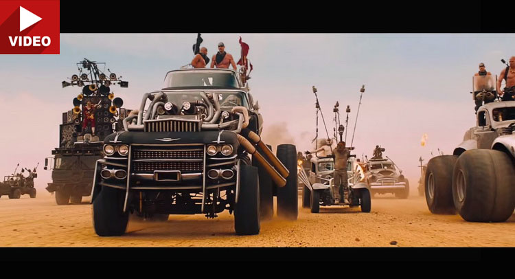 The Epic Vehicles Of Mad Max Fury Road Are Ready To Blow