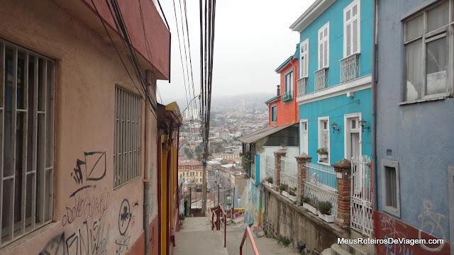 Rua de Valparaíso, Chile
