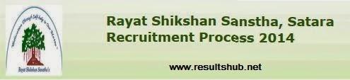 MKCL Rayat Shikshan Sanstha, Satara Recruitment 2014