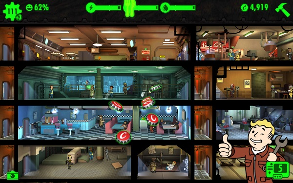 Fallout Shelter arrives on Android