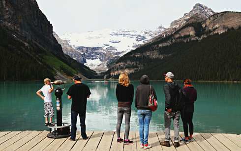 lake louise banff alberta travel photography series