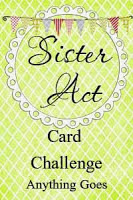 Sister Act Card Challenge blog