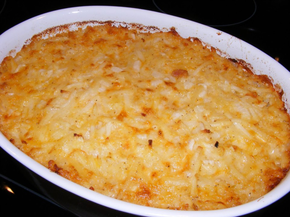 The Crazy Moore Family: Cracker Barrel Hashbrown Casserole ...