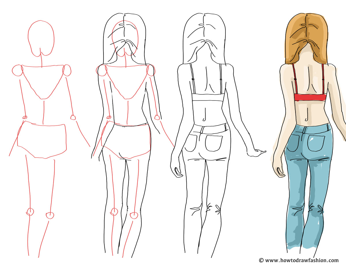 How to do fashion drawing 59