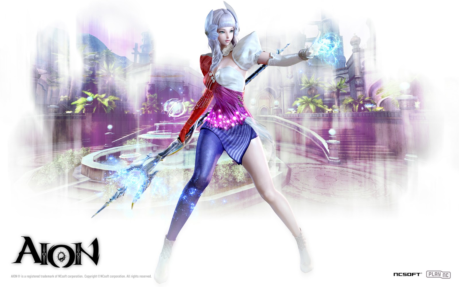 Chanter : Aion 3.0 Game Wallpaper