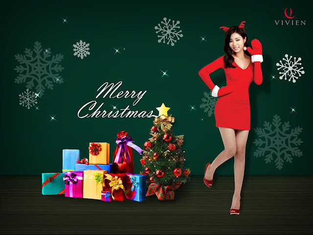 Shin Se Kyung Vivien Wallpaper Christmas