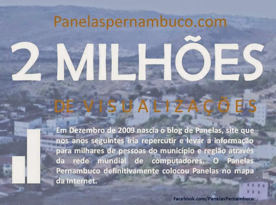 Blog Panelas Pernambuco atingi 2 milhões de visualizações