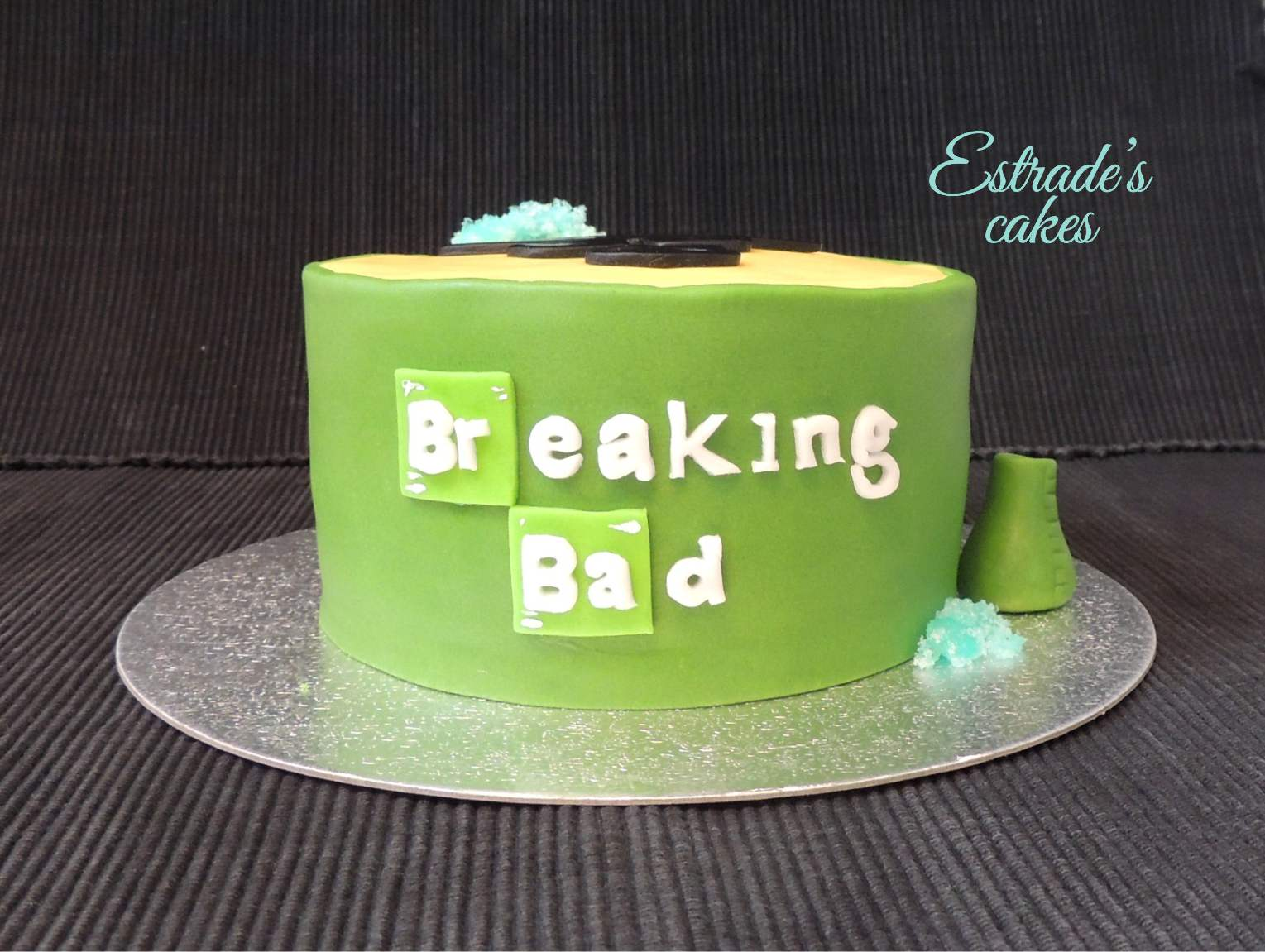 tarta Breaking Bad 3