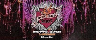 [Concert] L'Arc~En~Ciel - Are you ready? 2007