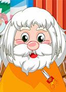 Парикмахерская Санты - Онлайн игра для девочек