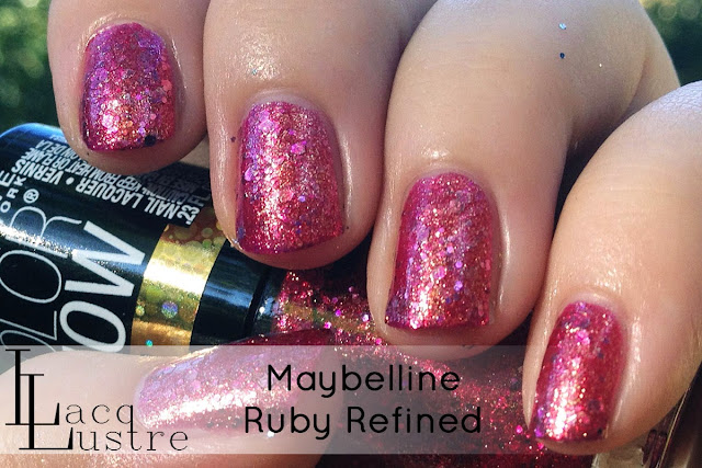 Maybelline Ruby Refined swatch