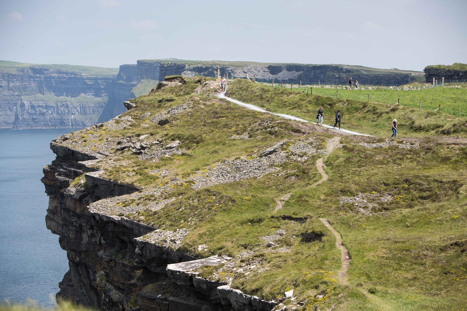 Cliffs of Moher to close to public due to strong winds