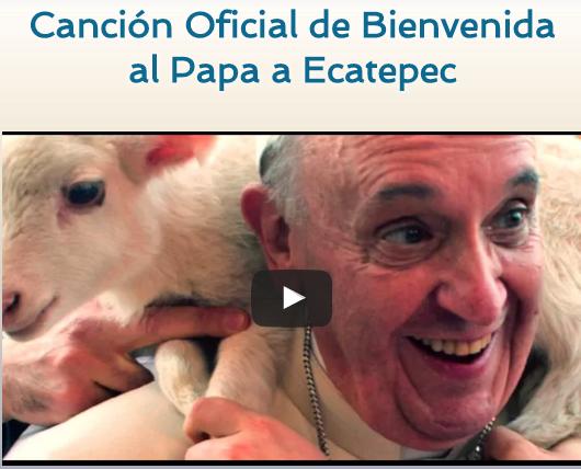 HERMOSA CANCIÓN PARA EL PAPA