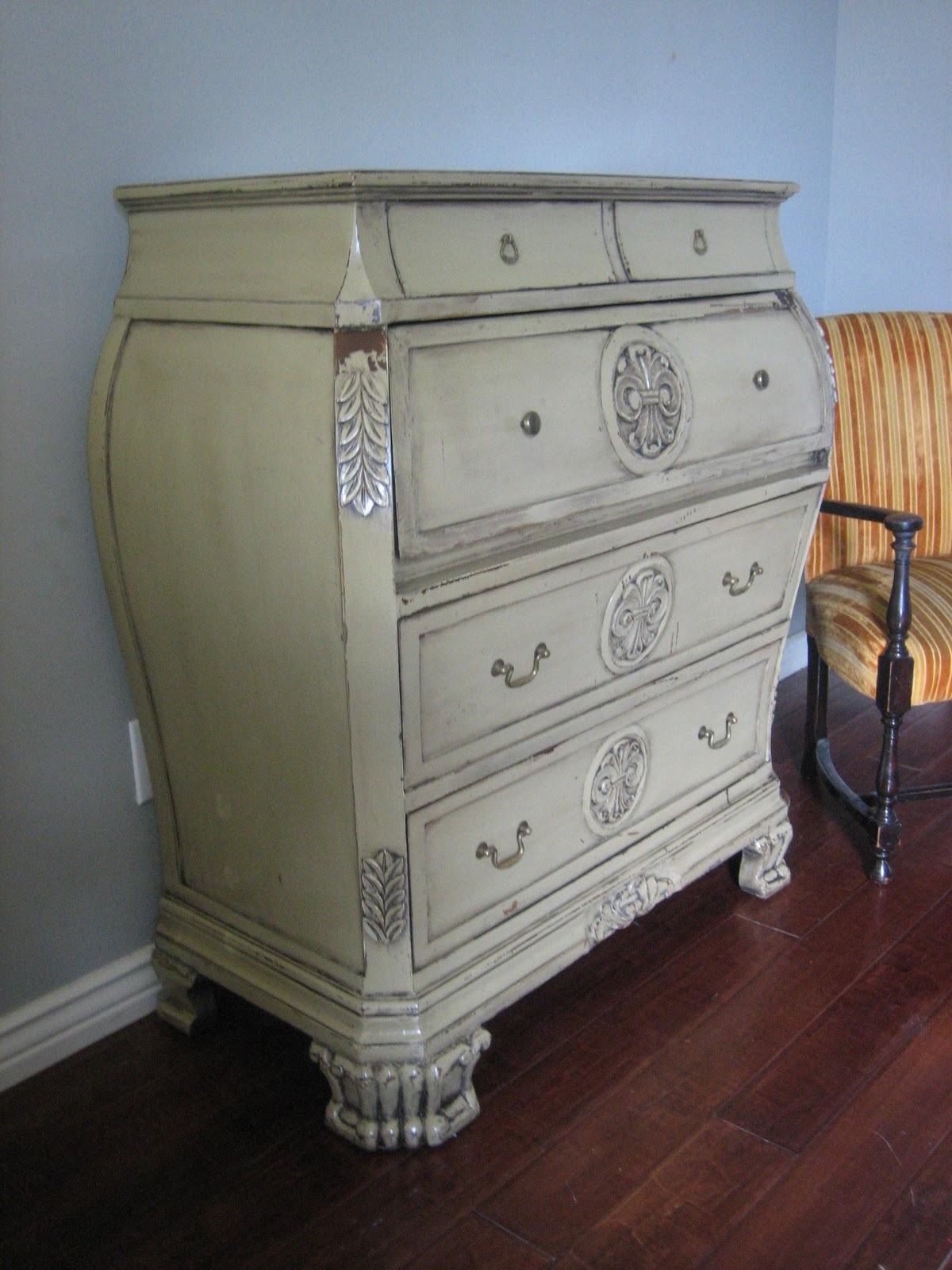 European Paint Finishes Horchow Bombay Chest