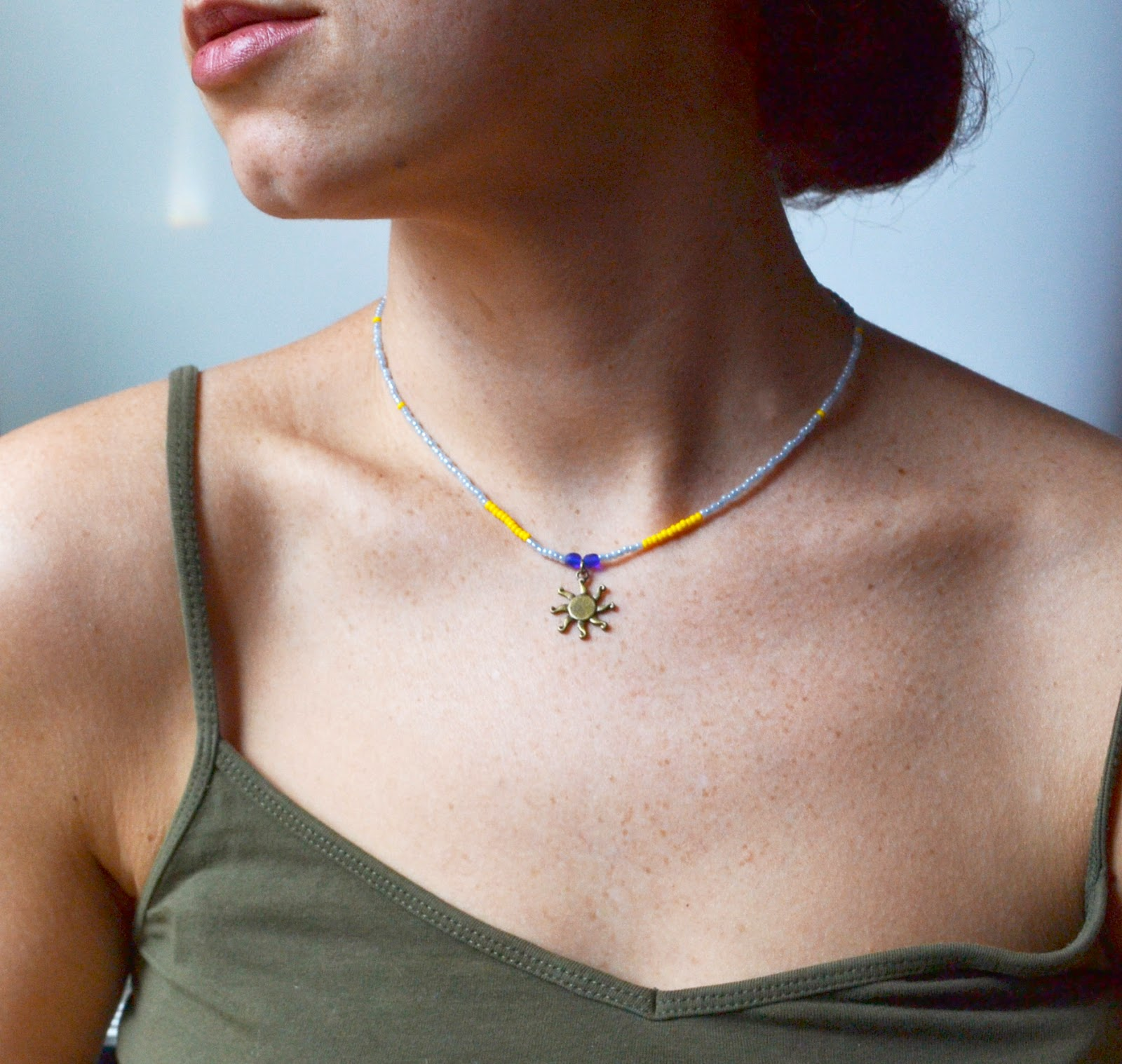 http://www.storenvy.com/products/5932051-sun-necklace-color-blocking-summertime-jewelry-colorful