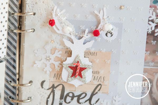 Countdown 2 Christmas Album @pinkpaislee @createoften #pinkpaislee #ppc2c #decemberdaily #minibook