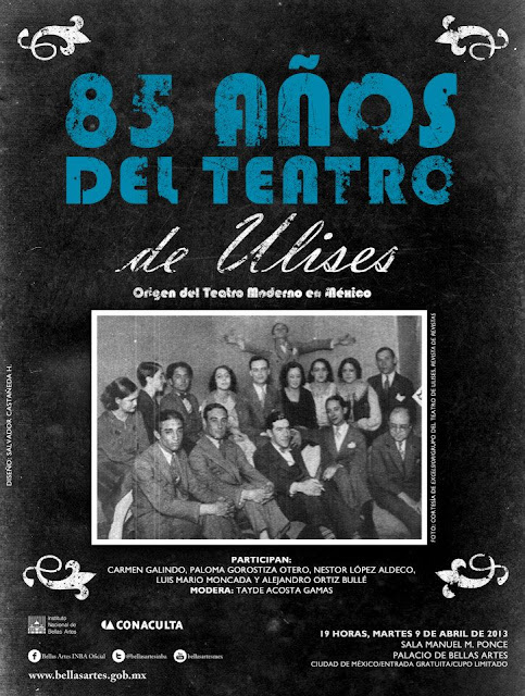 85 años del Teatro de Ulises en la Ciudad de México