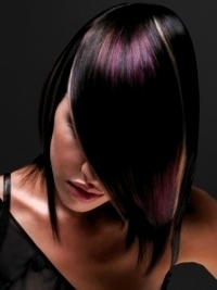 Look amazing with the latest trends in hair highlights. Going multi ...