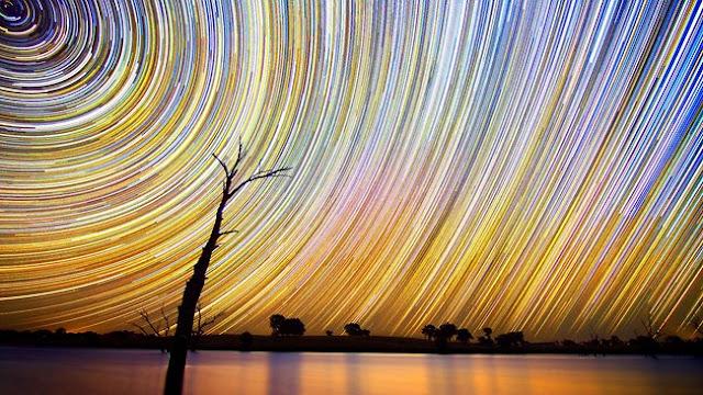 271860 lincoln harrison startrails صور مدهشة للنجوم في سماء استراليا ليلاً ''تقنية في التصوير فريدة من نوعها''