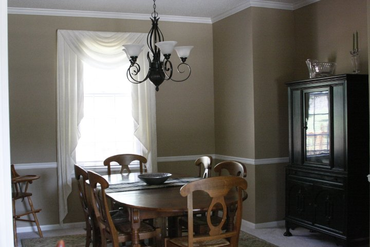 head above water: Dining room makeover