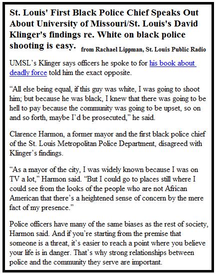 Clarence Harmon on Racial Harmony