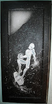 Silver Surfer Original Painting 11 x 25