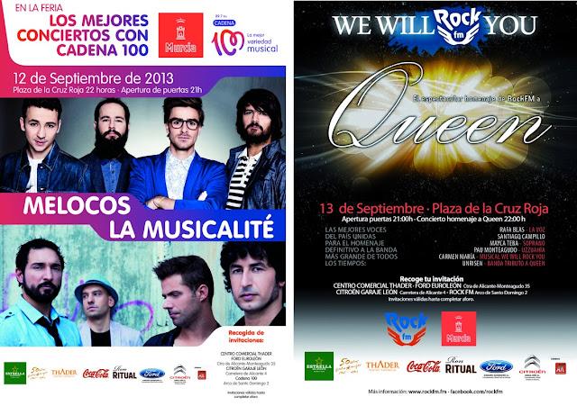 Conciertos Feria Murcia
