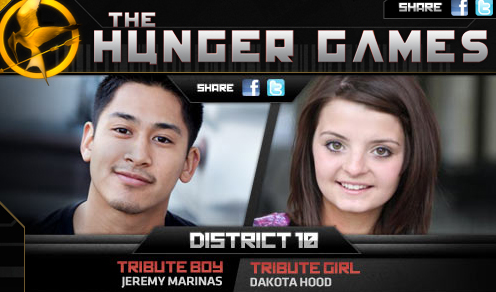 tribute from district 11