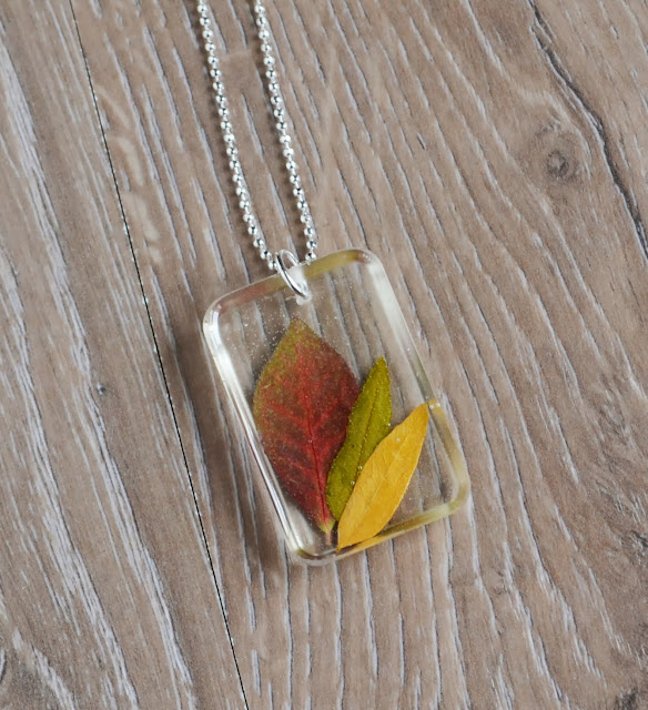 http://www.storenvy.com/products/3922546-autumn-leaf-necklace-resin-jewelry-real-leaf-necklace-red-leaf-necklace