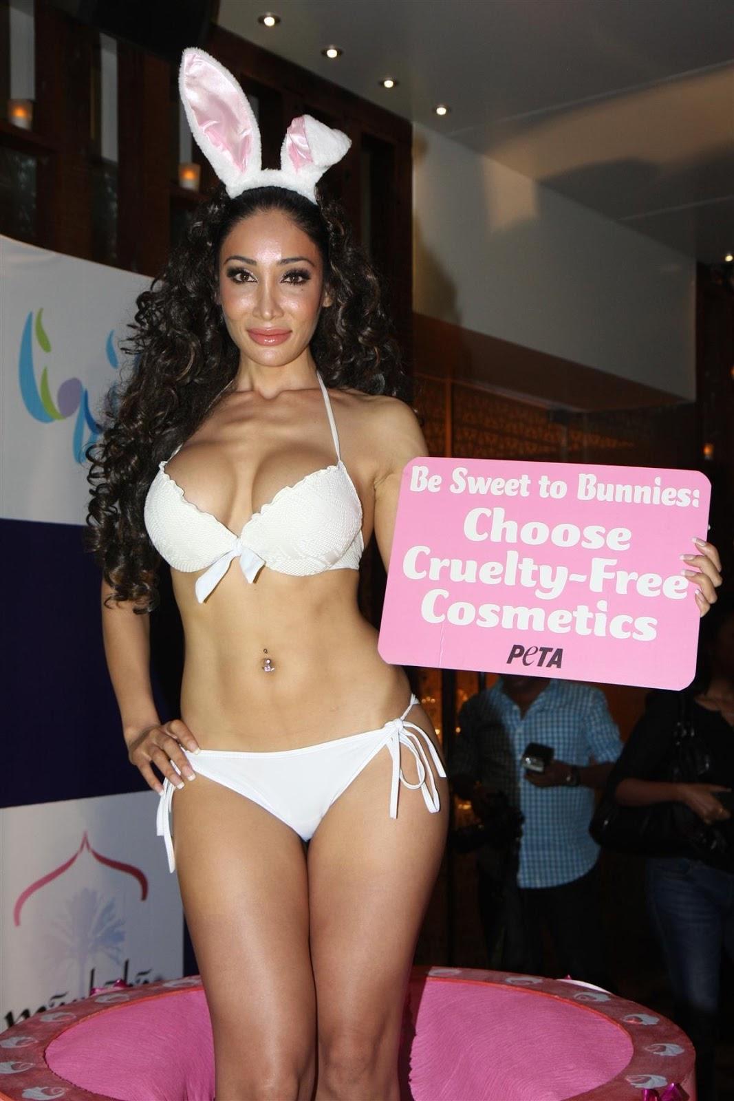Sofia Hayat's Bikini Photohoot for Peta